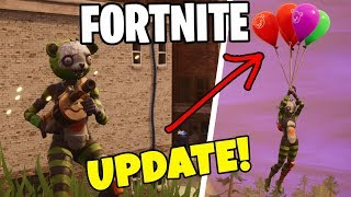 BALLOON AND EXPLOSION UPDATE * BUYS NEW BEAR SKINNET * FORTNITE in English