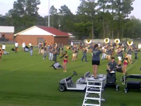PRCC Band with String of Pearls Dancers