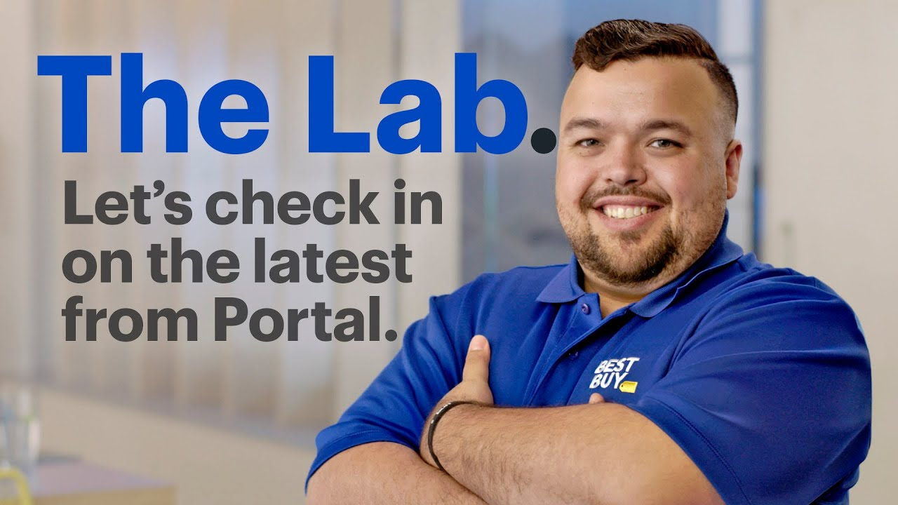 In The Lab: Portal and Portal TV from Facebook.