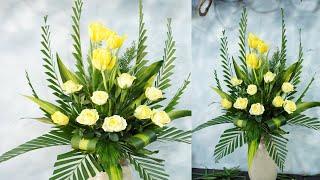 Tulip flower ❤ ALTAR Flower arrange|EP 352