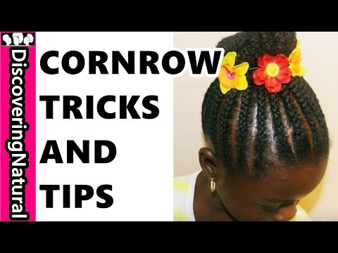 Cornrow Hairstyle Up In One