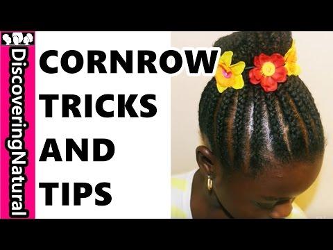 how-to-cornrow-like-a-pro-:-#cornrow-braided-#bun-#naturalhair-#hair