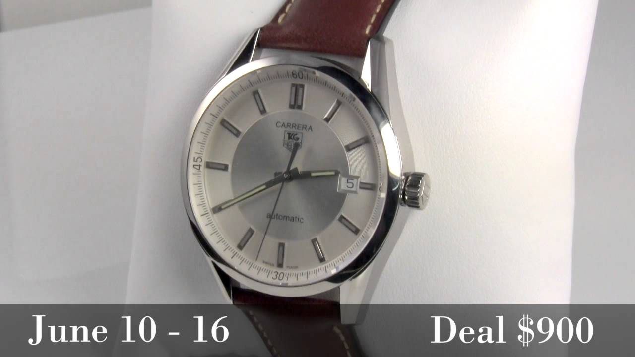 deal of the week tag heuer carrera automatic men s watch deal of the week tag heuer carrera automatic men s watch