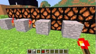 Minecraft МХ Часть 4 Как сделать мигающие лампы (Моя версия)(Подпишись и лайк! всем удачи!, 2013-12-26T16:02:35.000Z)