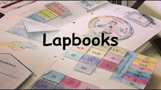 лэпбук - основные шаблоны