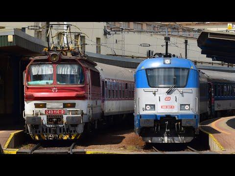 Vlaky - Bratislava hlavná stanica (SK) - 4.7.2017