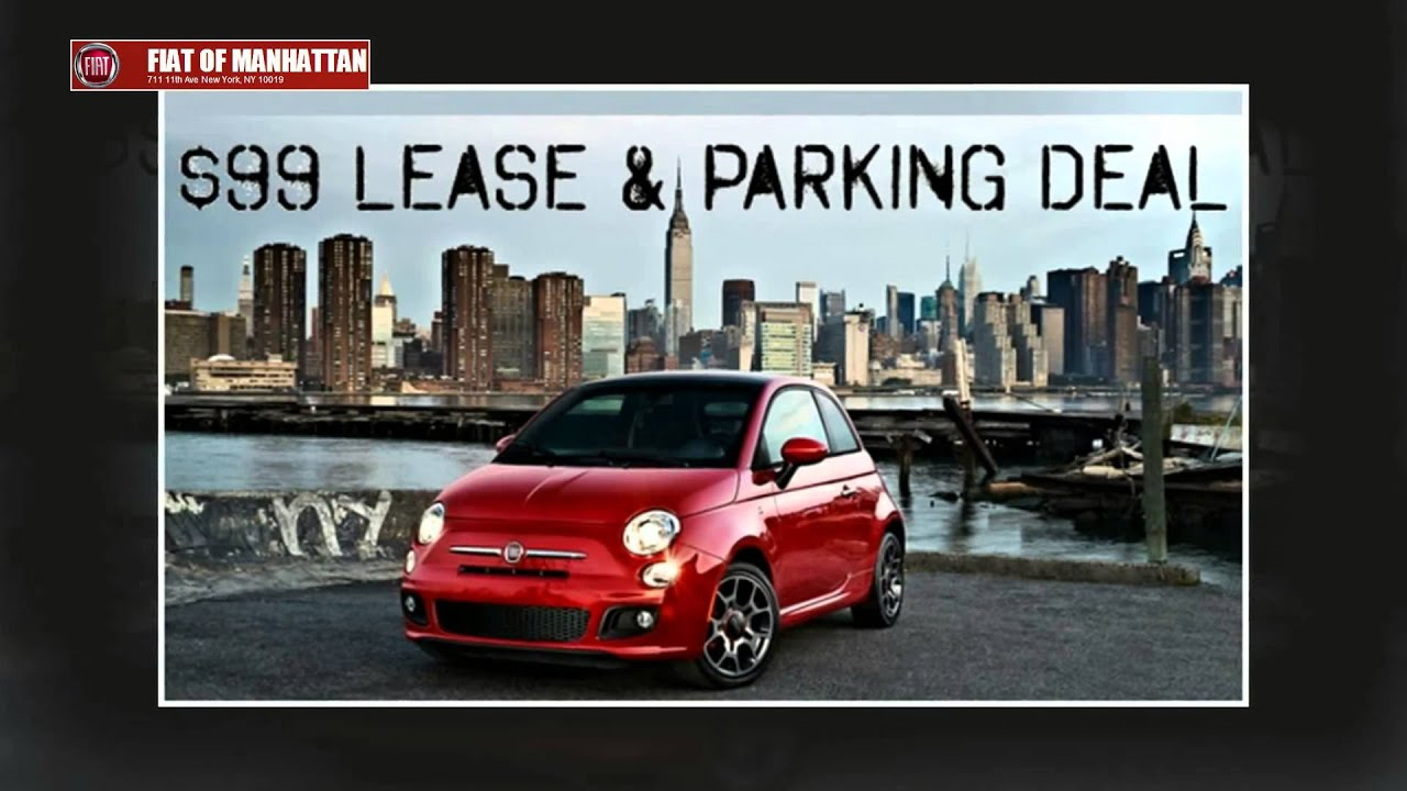 fiat of manhattan - $99 parking deal in manhattan makes happy