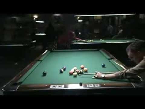Tom Karabatsos Dennis Walsh Red Shoes Billiards Straight Pool League 12/18/13