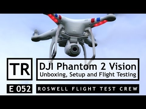 RFTC: DJI Phantom 2 Vision Unboxing, Setup, Flight Testing and Aerial Video Demonstration