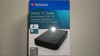 Verbatim Store 'n' Save 4TB HDD Review