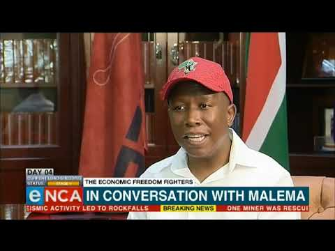 EFF cardinal pillars not up for review: Malema - eNCA