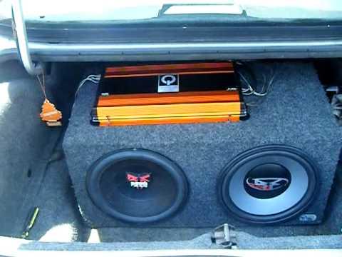 Car Audio System Huge Amplifier Beast 3000 Watts Quantum
