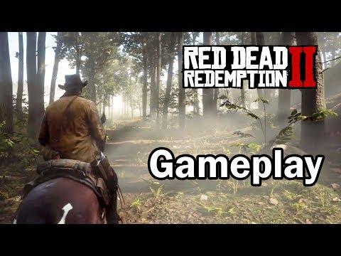RED DEAD REDEMPTION 2 - A Rockstar Finalmente Mostrou Gameplay do Jogo!