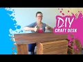 Kate Creates DIY Crafting Desk