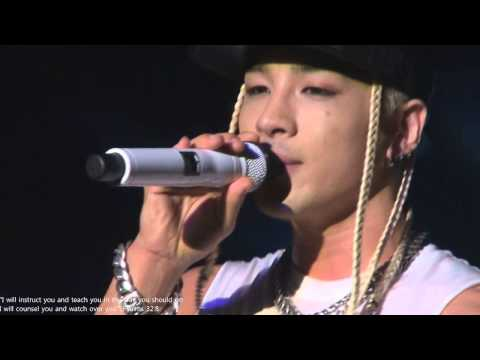 131126 - TAEYANG - encore - Wedding dress - mtv music experiment in San Francisco