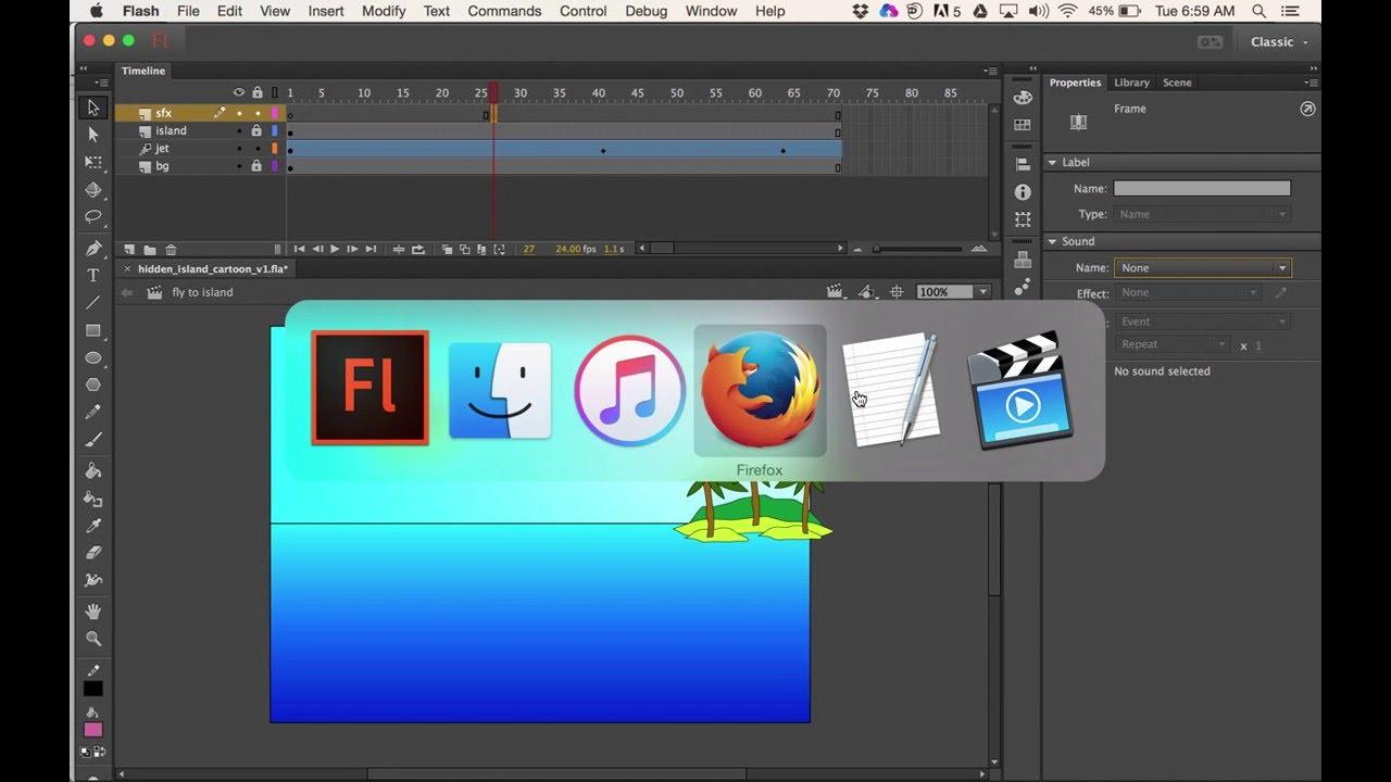 Download flash animation mac free