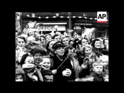 Royal Visit to West Riding - Yorkshire - 1954