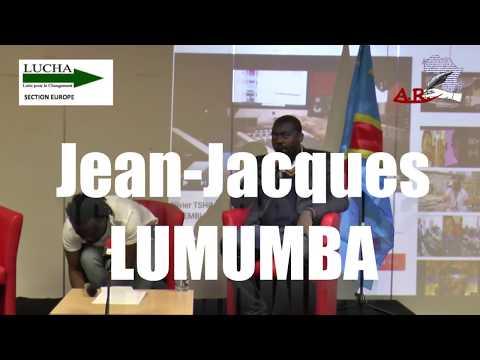 """""""Lucha"""" Jean Jacques LUMUMBA  ,Corruption au Congo  Kabila et son clan au centre d'un scandale sans"""