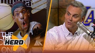 Colin Cowherd: 'The comp for Michael was Kobe, the comp for Magic was LeBron' | NBA | THE HERD