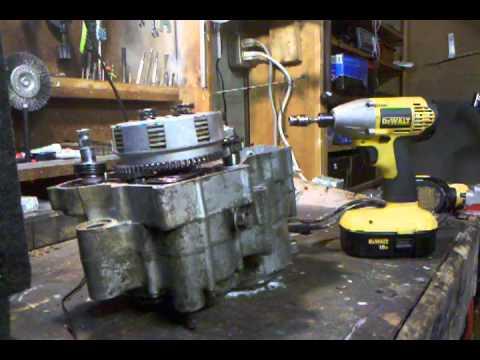 Yamaha Blaster Flywheel Lightening