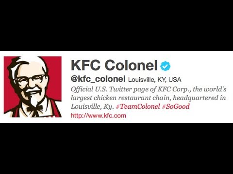 Why Does KFC Follow These 11 People on Twitter?