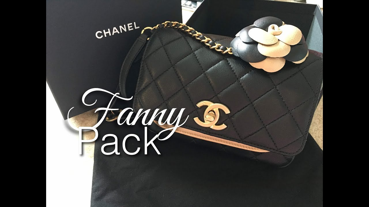 6b368653dae4 CHANEL Fanny Pack - YouTube