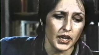 JOAN BAEZ:  (You