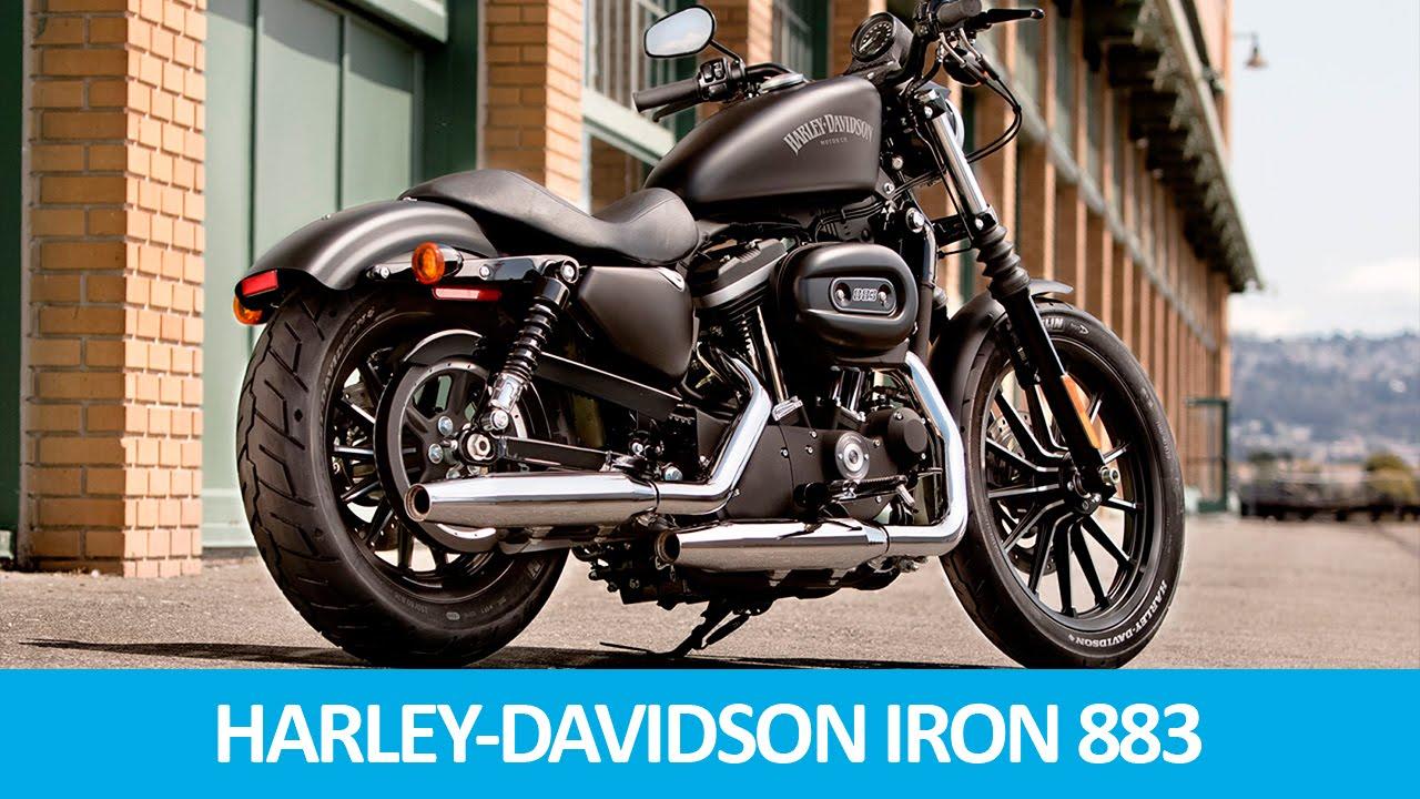 cons rcio de motos harley davidson iron 883 youtube. Black Bedroom Furniture Sets. Home Design Ideas