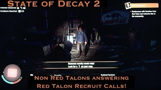 Red talon soldiers state of decay 2