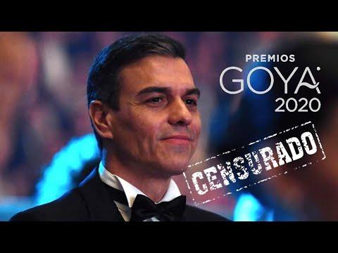 🚫El Vídeo Que TVE No Emitió En Los Goya | Así Recibieron A Pedro Sánchez A Su Llegada A La Ceremonia