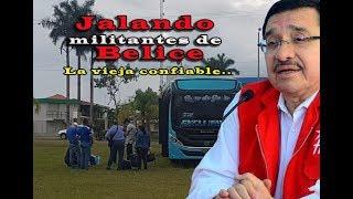 Confirmado, FMLN jala salvadoreños de Belice para que voten por ellos