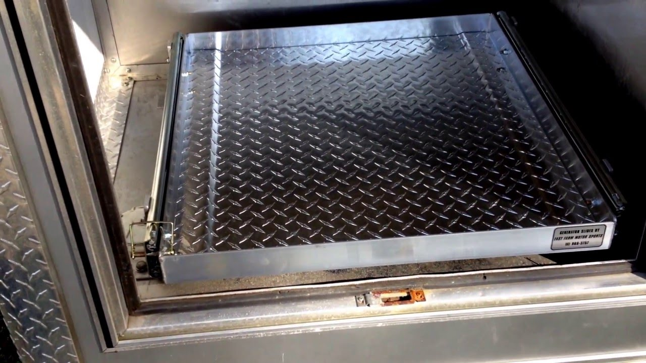 Customer Review Fast Farms Generator Slide Out Tray Youtube