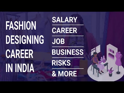Fashion Designing Career In Surat Course Scope Future Science Commerce In Hindi Youtube