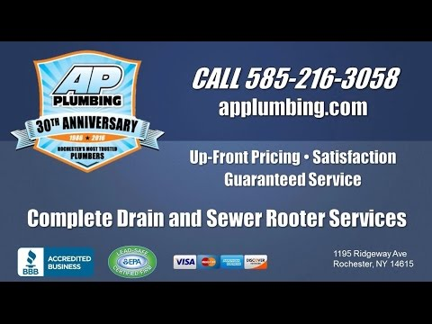 Ap Plumbing Rochester Ny Plumbing Drain And Sewer Cleaning