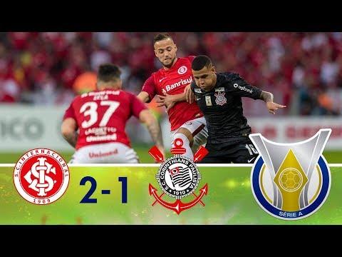 Melhores momentos - Internacional 2 x 1 Corinthians - Campeonato Brasileiro (27/05/2018)