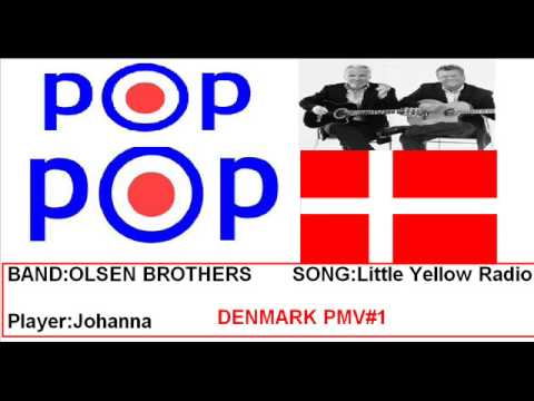 Olsen Brothers  Little Yellow Radio - POP MELODY VISION DENMARK #1