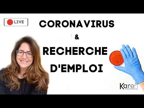 Coronavirus et recherche d'emploi: conseils CV, Entretien, vidéos, relance, réseaux... Que faire ?