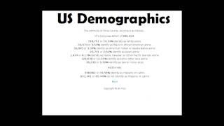 US Demographics