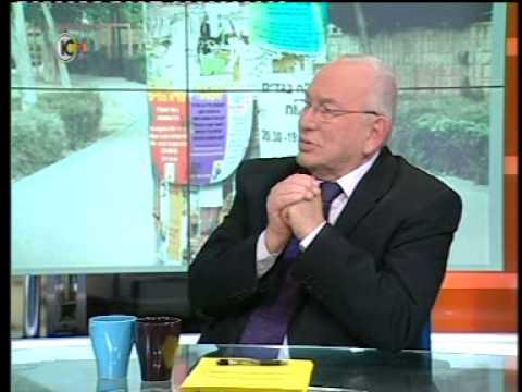 """איתן רגב ממרכז טאוב מציג את דוח מצב המדינה 2014  ב""""לונדון וקירשנבאום"""" בערוץ 10"""