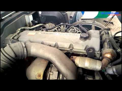 UD(Nissan Diesel) J08E by Hino Engine View
