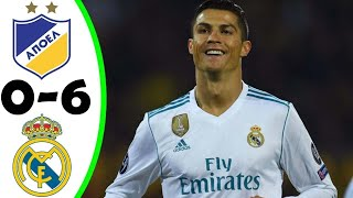 Download Video APOEL Nicosia vs Real Madrid 0-6 ● All Goals - UCL (21/11/2017) HD MP3 3GP MP4