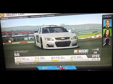 I BOUGHT A NASCAR  I  REAL RACING 3 On Apple TV