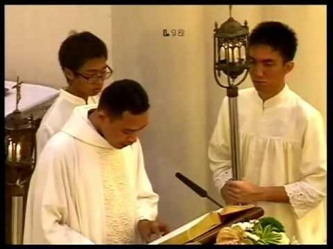 Misa Kamis Putih Gereja St.Laurensius Alam Sutera Serpong