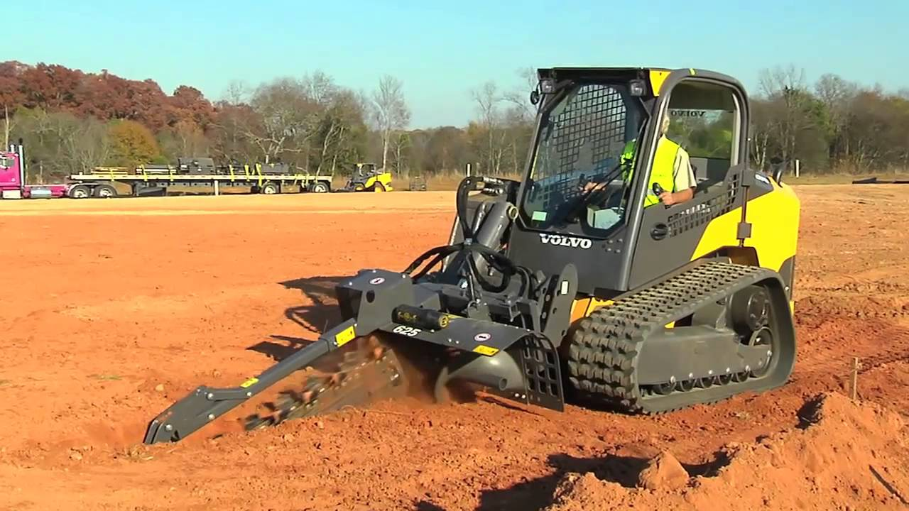 Volvo Construction Equipment | Skid Steer & Compact Track Loader Attachments - YouTube