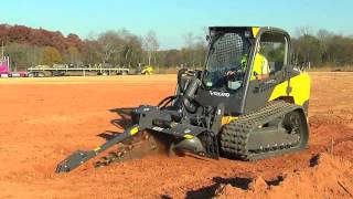 Volvo Construction Equipment | Skid Steer & Compact Track Loader Attachments