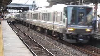 JR西日本 223系1000番台+223系2000番台 普通 姫路行き 膳所駅 20190920
