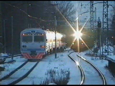 Поезда ярославского и ленинградского направлений МосУзла (12.1999)