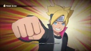 Boruto Uzamaki vs Sarada Uchiha Naruto Ultimate Ninja Storm 4  1080p60fps