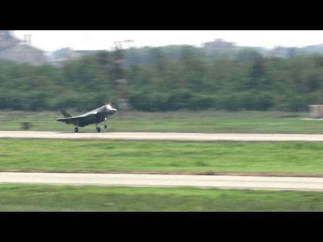 The First Italian-Built F-35 Makes First Flight