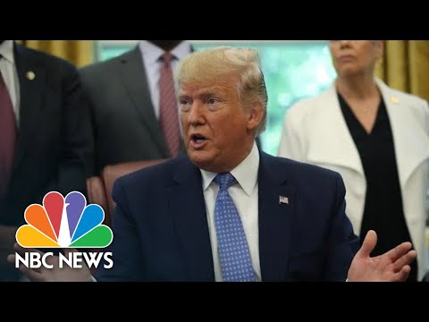Donald Trump: I'm 'Very Concerned' About Conditions At Migrant Detainee Facilities | NBC News